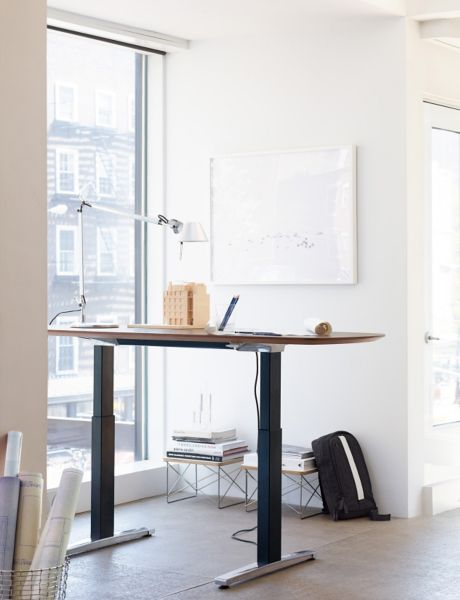 renew executive sittostand desk