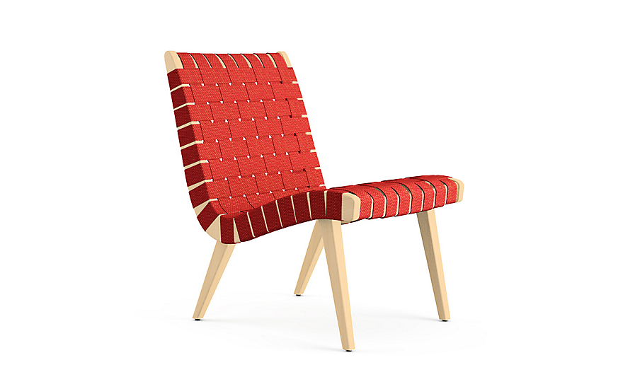 risom lounge chair design within reach