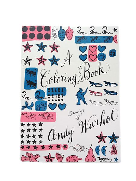 A Coloring Book Drawings by Andy Warhol Design Within Reach