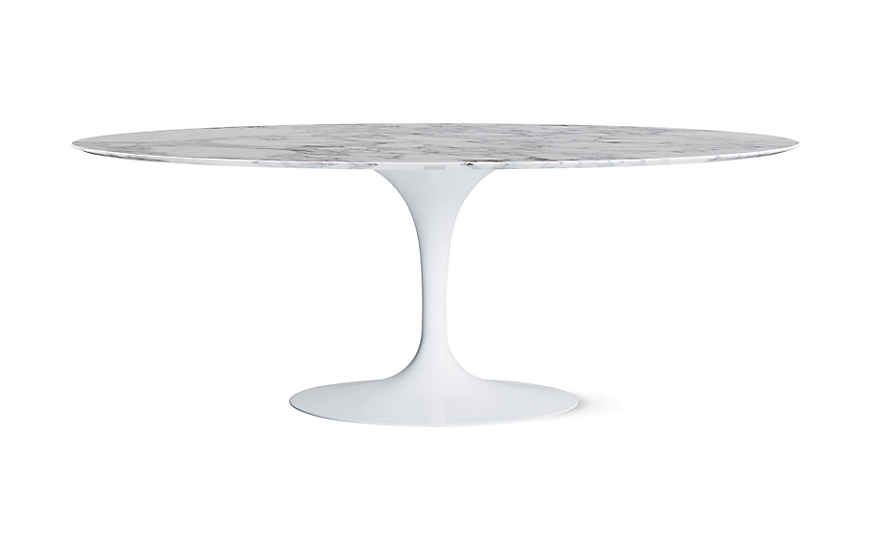Perfect Saarinen Oval Dining Table