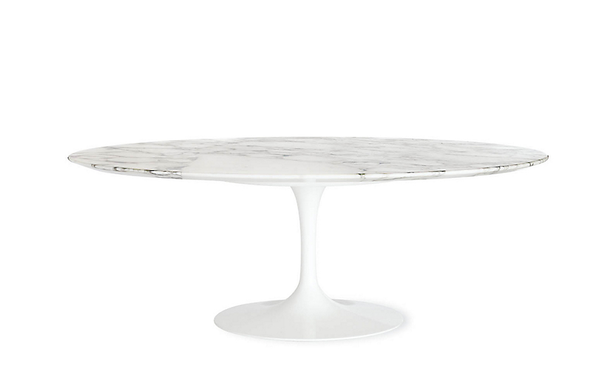Saarinen Low Oval Coffee Table Design Within Reach