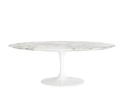 Beau Saarinen Low Oval Coffee Table