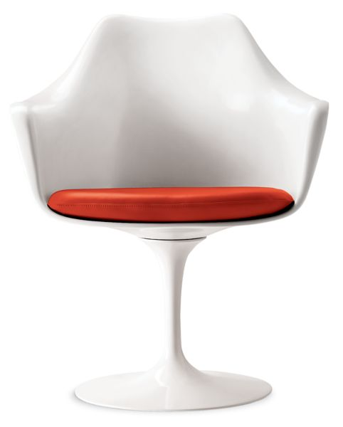 Saarinen Tulip Armchair Fully Upholstered Design Within Reach