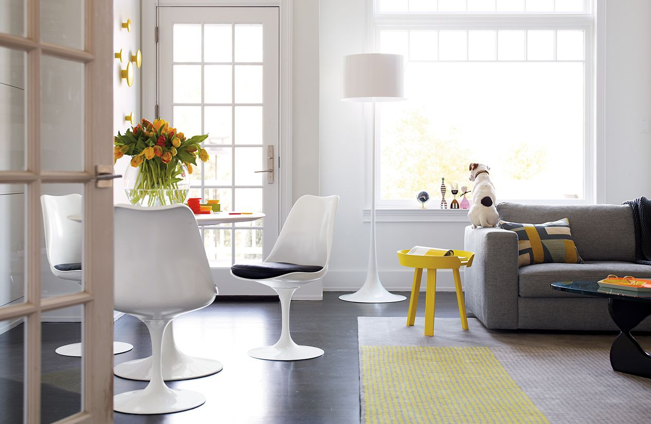 Saarinen Tulip  Armless Chair Design Within Reach