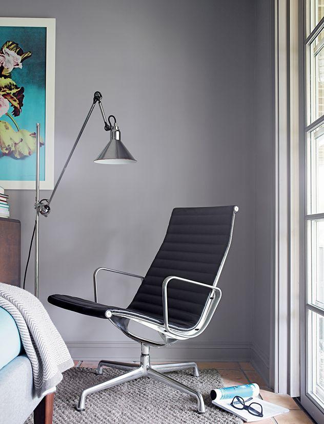 EamesR Aluminum Group Lounge Chair