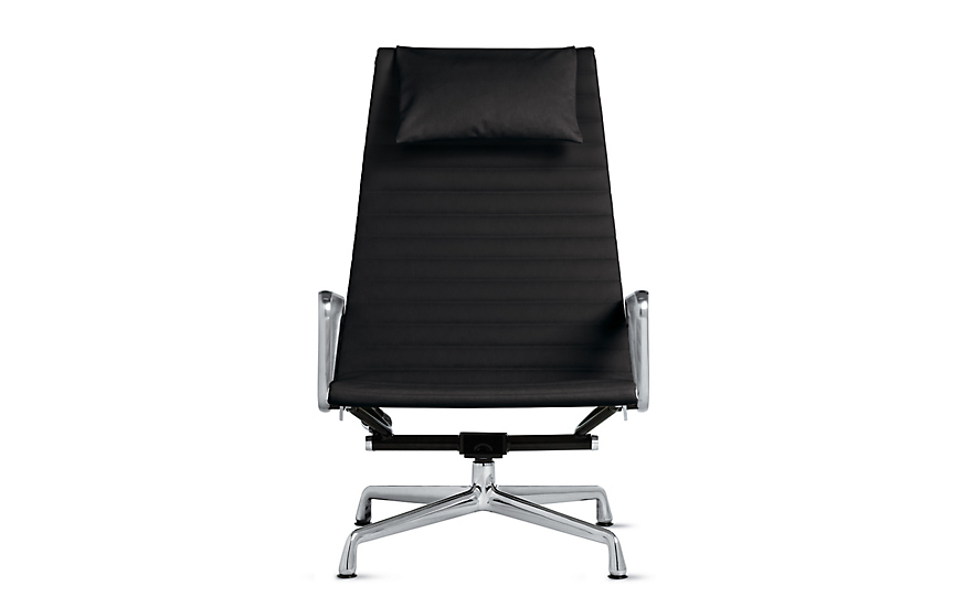 eames aluminum group lounge chair herman miller. Black Bedroom Furniture Sets. Home Design Ideas