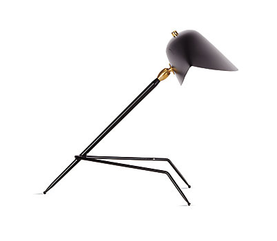Serge Mouille Tripod Desk Lamp