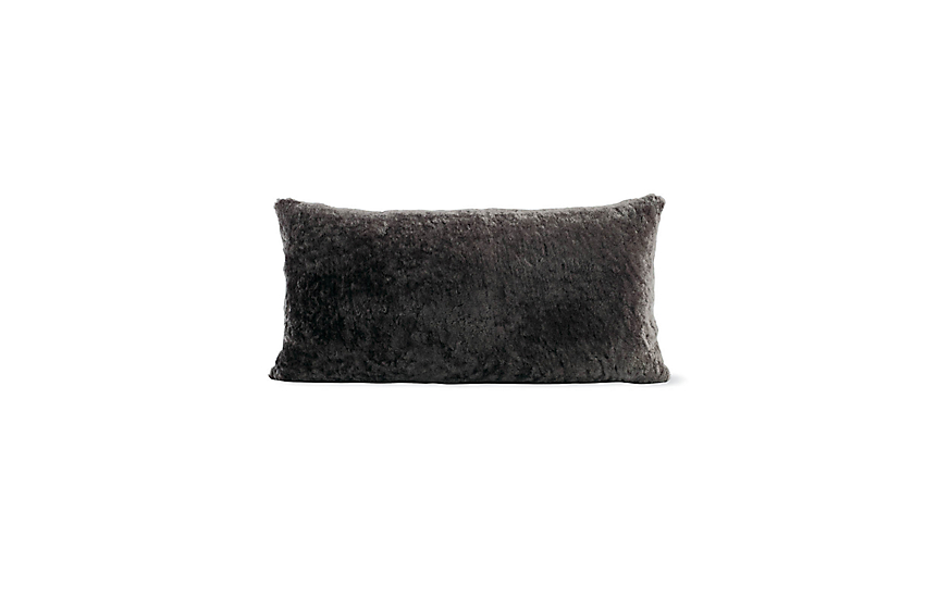 Sheepskin Throw Pillow