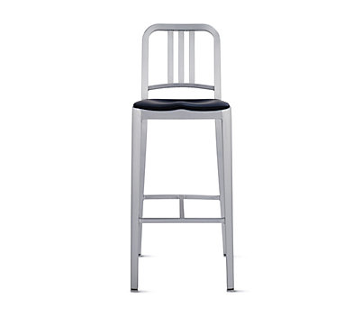 1006 Navy® Barstool with Seat Pad