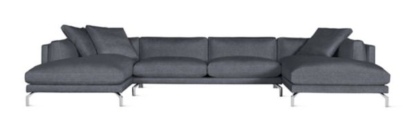 Como DoubleChaise Sectional Design Within Reach