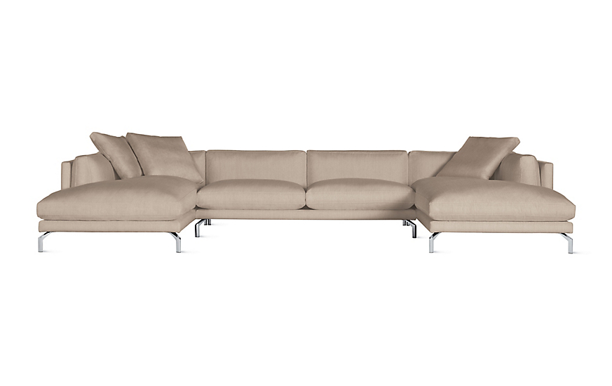 Como Double-Chaise Sectional
