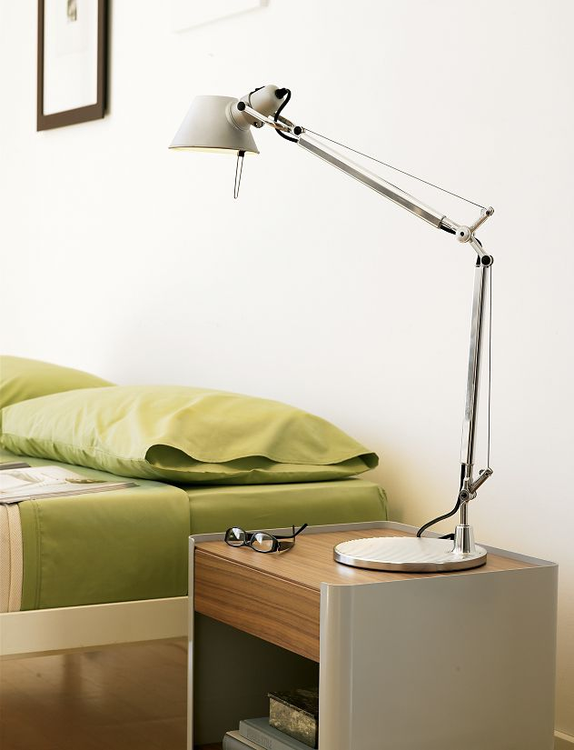 Tolomeo Desk Lamp Aluminum Shade