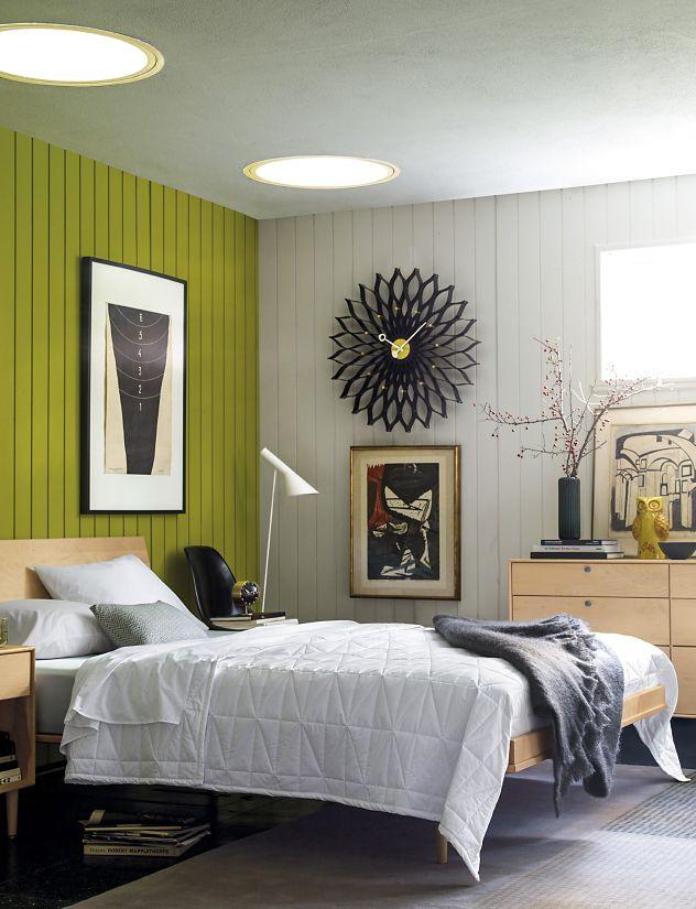Nelson Sunflower Clock - Herman Miller on