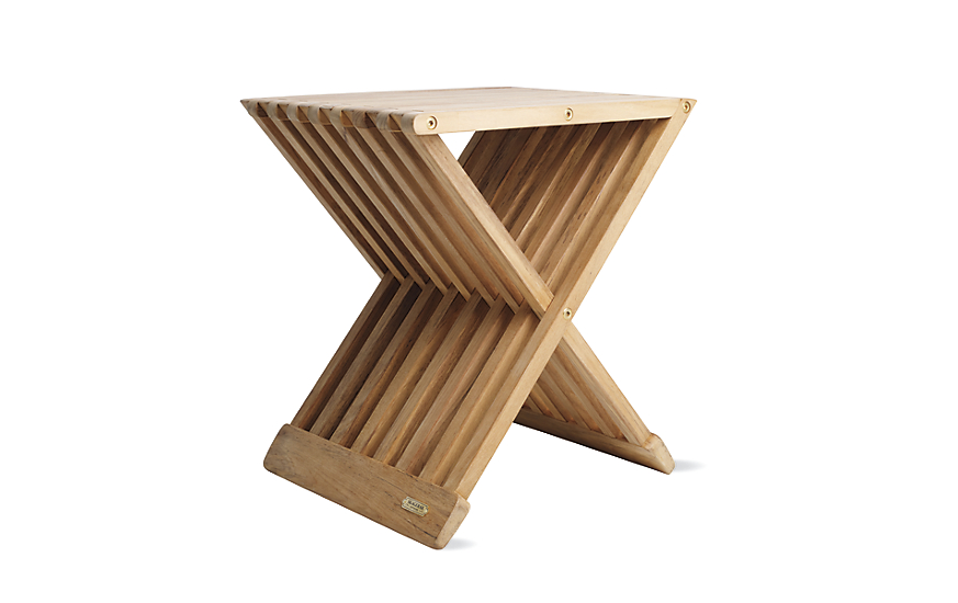 Fionia Folding Stool  sc 1 st  Design Within Reach : stool designs - islam-shia.org