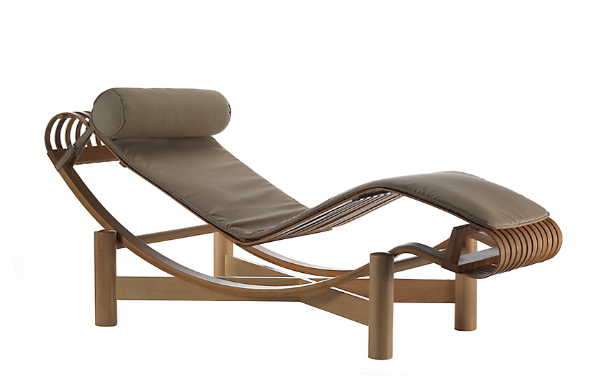 Tokyo outdoor chaise lounge design within reach for Build outdoor chaise lounge