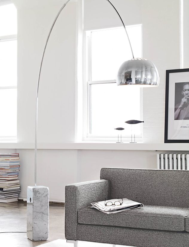 arco floor lamp - design within reach