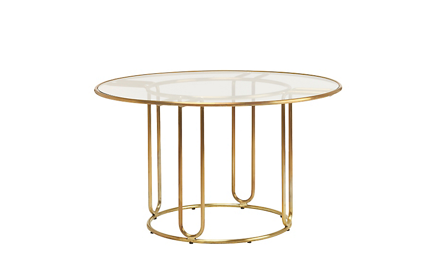 Walter Lamb Round Dining Table