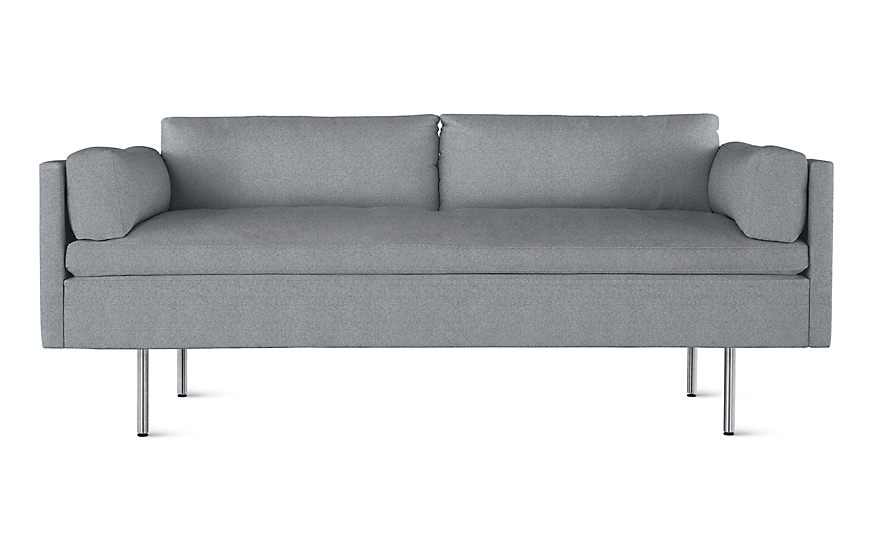 Bolster Two Seater Sofa. 1 Of 8