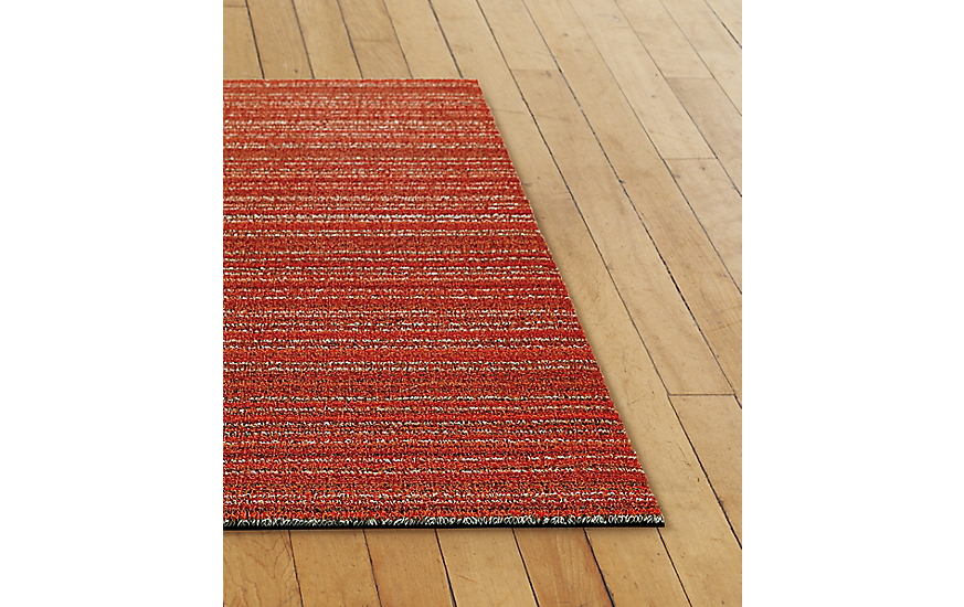 Chilewich Skinny Stripe Shag Floor Runner