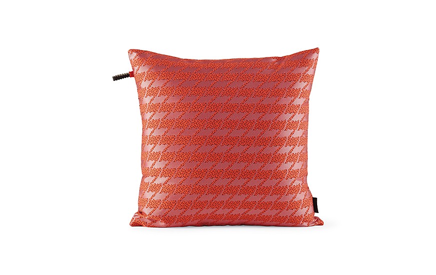 Maharam Pillow in Repeat Classic Houndstooth