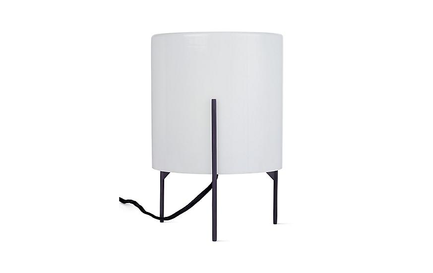 Delightful Milk Drum Table Lamp