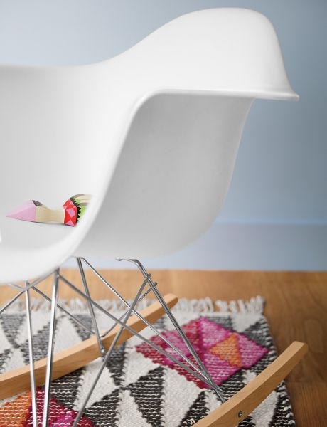 Eames Molded Plastic Armchair Rocker Base Herman Miller