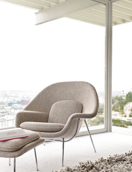 Merveilleux ... Womb™ Chair And Ottoman ...