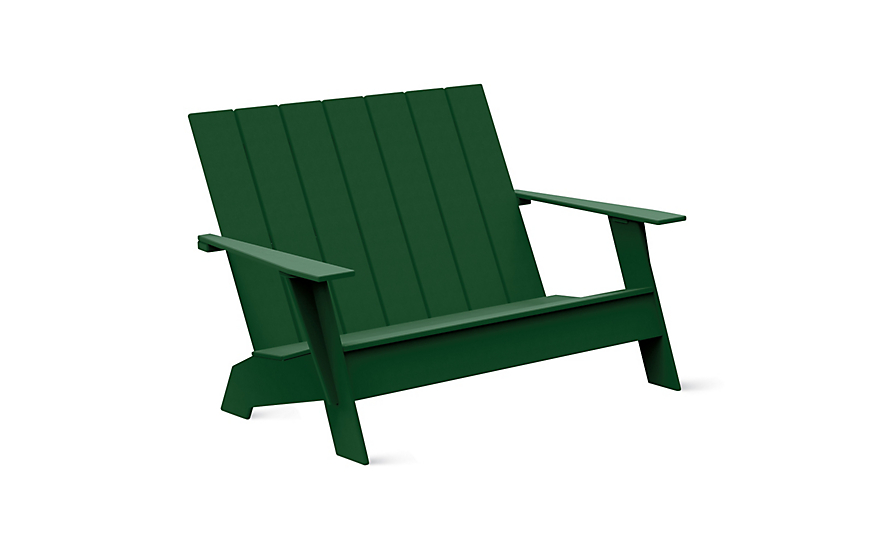 Adirondack Two-Seater Bench