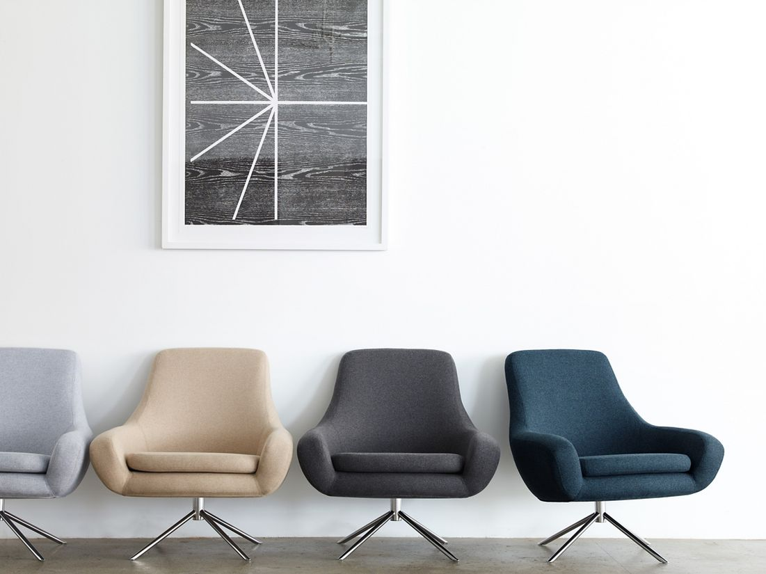Noomi Swivel Chair - Design Within Reach