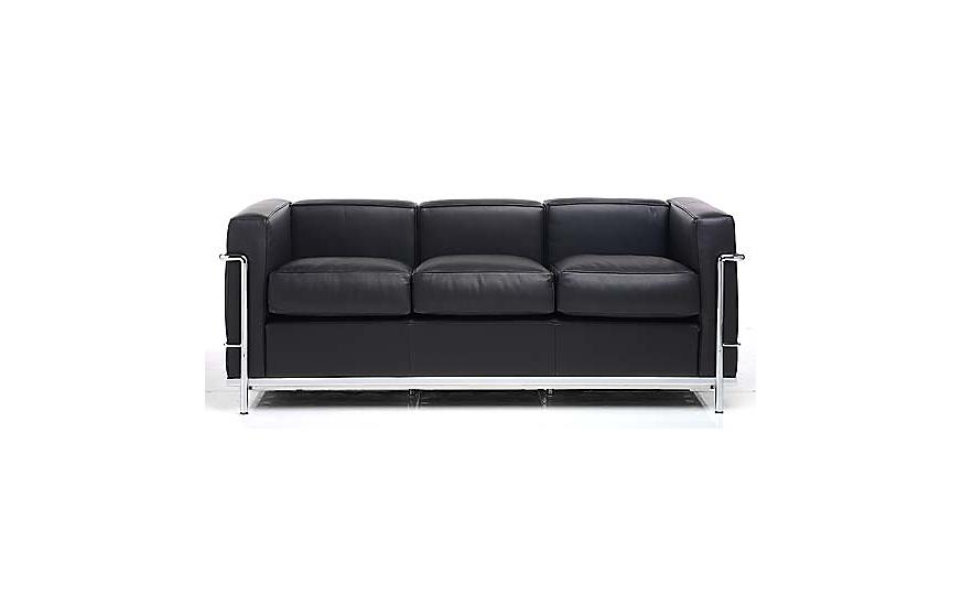 Lc2 Pe Modele Three Seat Sofa