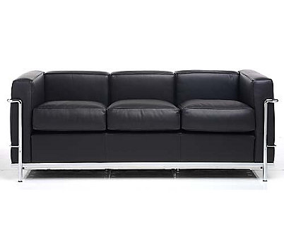 Lc2 Pe Modele Three Seat Sofa