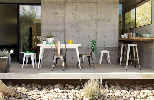 Delightful ... Outdoor Tolix® Marais A Chair Part 23