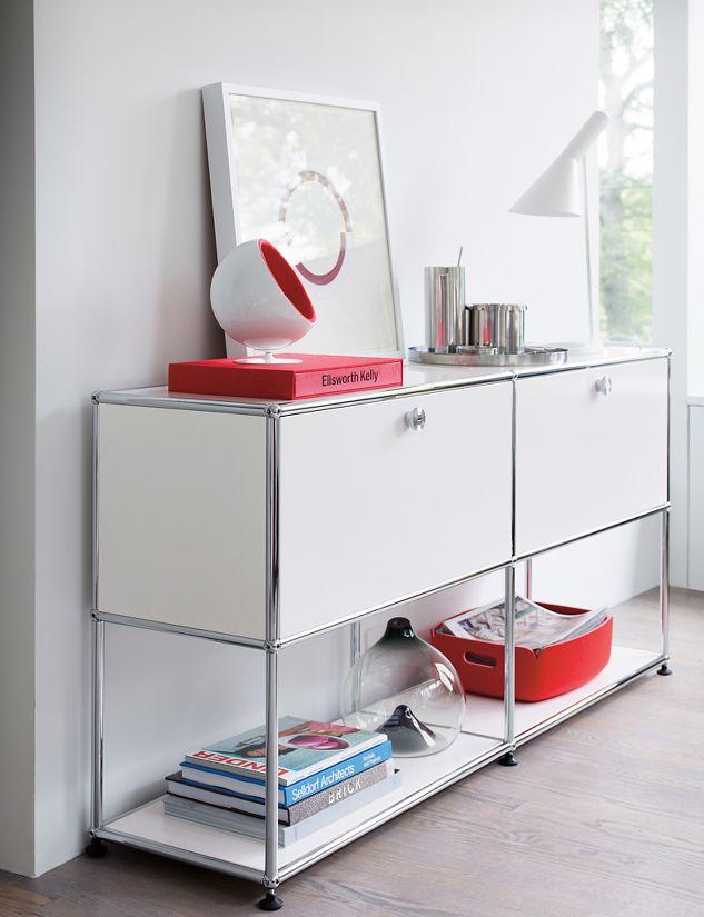 usm haller file pedestal with casters design within reach. Black Bedroom Furniture Sets. Home Design Ideas