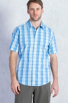 Mundi Check S/S, Tourmaline, medium