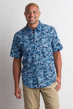 Next-to-Nothing Pesca S/S, Navy, medium