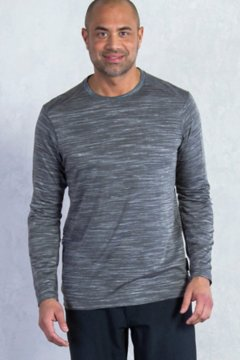 Termo Crew L/S, Slate Heather, medium
