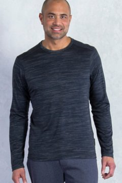 Termo Crew L/S, Black Heather, medium