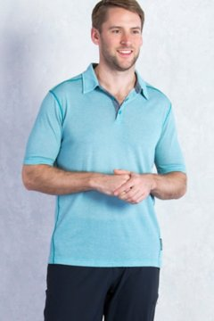 Sol Cool Jacquard Polo S/S, Algiers, medium