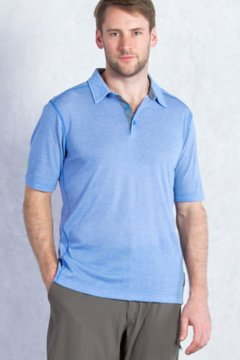 Sol Cool Jacquard Polo S/S, Riviera, medium