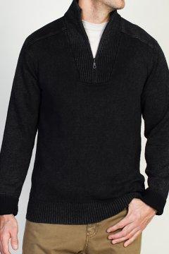 Cafenisto Funnel Neck Sweater, Slate, medium