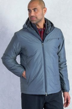 Cosimo Hooded Jacket, Carbon, medium