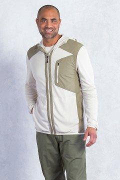 BugsAway Sandfly Jacket, Bone/Walnut, medium