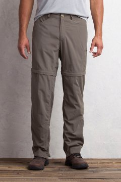 BugsAway Sol Cool Ampario Convertible Pant - Short, Cigar, medium