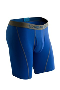 Give-N-Go Sport Mesh 9'' Boxer Brief, Royal, medium