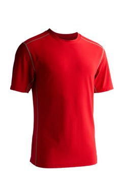 Give-N-Go Sport Mesh Crew, Stop, medium