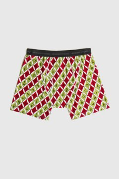 Give-N-Go Printed Boxer Brief, Happy Holidays, medium