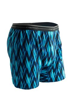 Sol Cool Print Boxer, Atlantic/Modern Argyle, medium