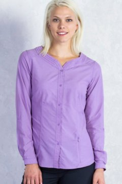 Dryflylite Blouse L/S, Lupine, medium