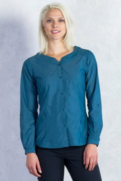 Dryflylite Blouse L/S, Marina, medium