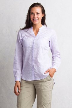 Fresco L/S, Pale Lilac, medium